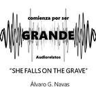 She falls on the grave - Álvaro G. Navas