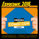 Directo desde Expocomic 2016. Tormenta de podcasts: Apocalipsis Friki, Destino Arrakis, La casa de El, Tomos y grapas...