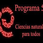 Programa 51. Ciencias naturales para todos