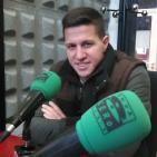 José Fran Agulló, Jugador Burgos CF / Onda Deportiva Burgos