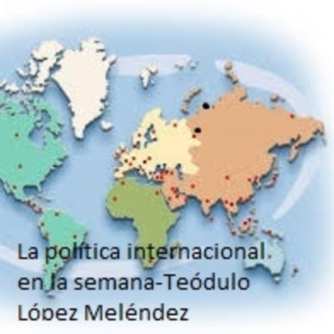 La pol tica internacional en la semana 26 de marzo 1de for La politica internacional