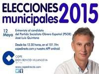 Entrevista José Luis Quintana en COPE Don Benito Villanueva