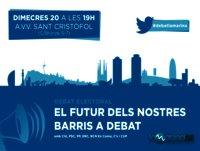 El futur dels nostres barris a debat (Eleccions municipals 24-M)