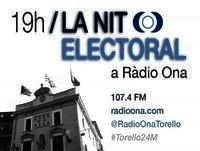 Especial Nit Electoral 24-M, Ràdio Ona