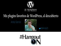 Cuales son los plugins favoritos de WordPress para Andy García