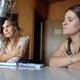 Licenciadas Cristina Marcos y Romina Martirena