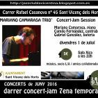 Concert de Mariano Camarasa Trio