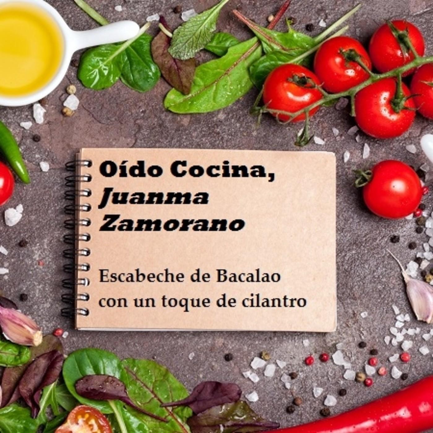 O do cocina con juanma zamorano escabeche de bacalao con - Oido cocina coruna ...