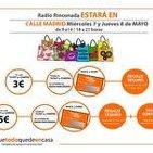 Radio Rinconada especial comercio calle Madrid parte 1 del 7 mayo 2014