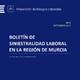 Valoración Siniestralidad Laboral Región de Murcia