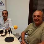 Entrevista a Andreu Escolà i Santi Borràs del GEPEC denunciant que el Riu Siurana no té aigua 23/08/17