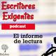 1x16 Escritores Exigentes - El informe de lectura con Sole Núñez