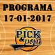 Pick&Pop 17/01/2017