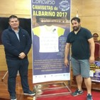 Premio de 100 euros a camiseta do albariÑo adicada a cidade do viÑo