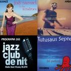 Programa 260: Judy Niemack, Javier Navas i Josep Tutusaus Septet.