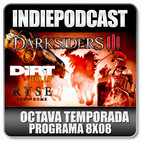 Indiepodcast 8x08 'Dirt Rally, Ryse, Darksiders III y congelación de Mass Effect y venta de Hitman'