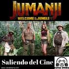 Jumanji Saliendo del Cine