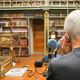 Xurxo Mariño estaba na fabulosa Biblioteca América
