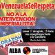 Parte 2 Convocatoria contra el intervencionismo imperialista a la República Bolivariana de Venezuela.