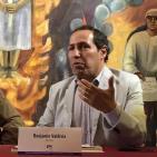 Presentación Mateo. Benjamín Valdivia