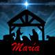 Personajes de la Navidad - María