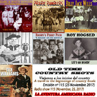 115- Old Time Country Shots (25 Noviembre 2017)