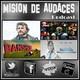 2x07 - Mision de Audaces - Villanos de Película. (Programa 19 MDA)