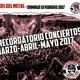 Corsarios - Programa del 19 de febrero de 2017 - Especial Agenda Conciertos Feb-May 2017