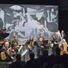 Club de Jazz 17/04/2016 || The Blue Shroud (conversación con Barry Guy y Ramón López)