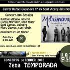 Concert amb METRINOVA, presentació del projecte 26 de febrer de 2016