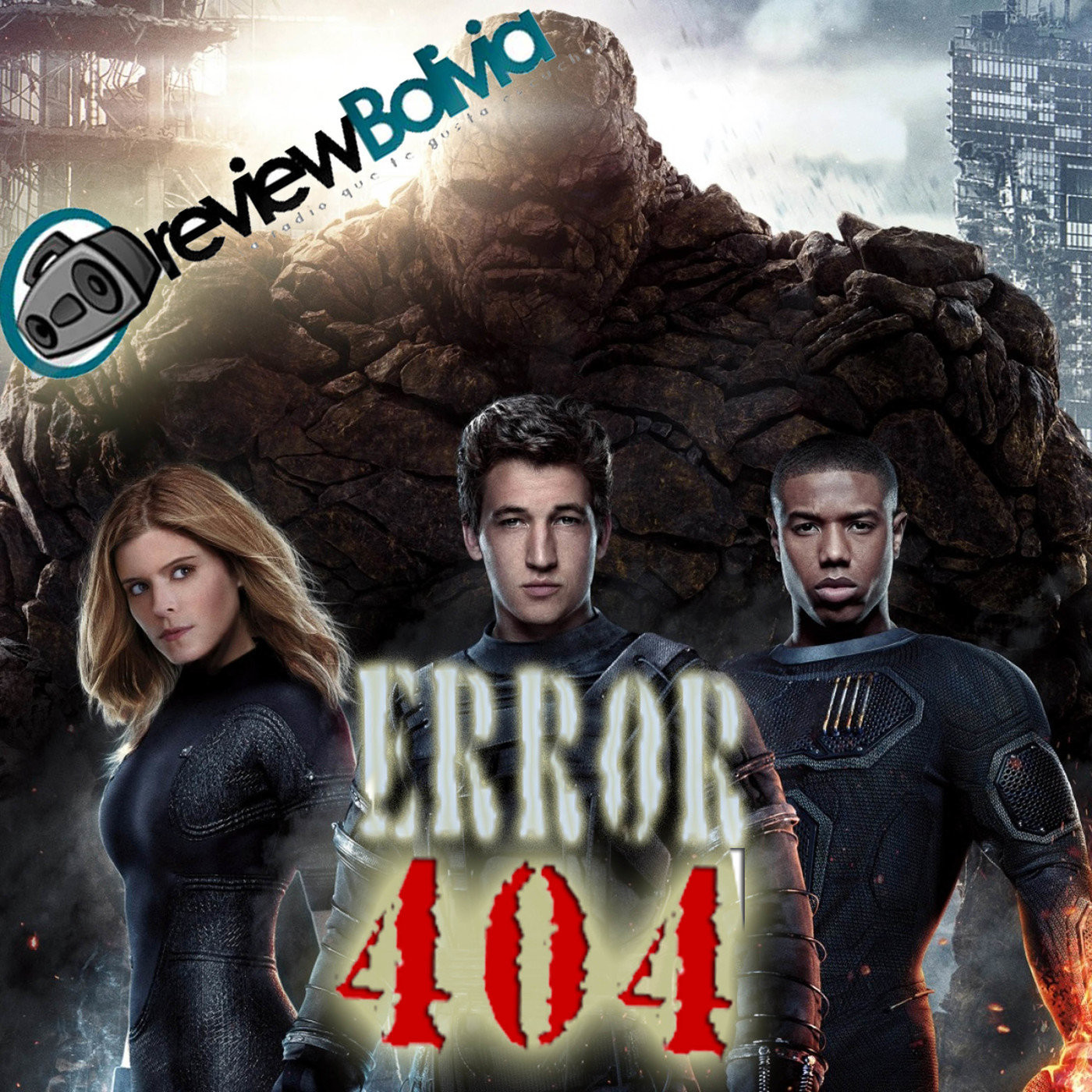<![CDATA[Fantastic Four 2015 - Error 404]]>