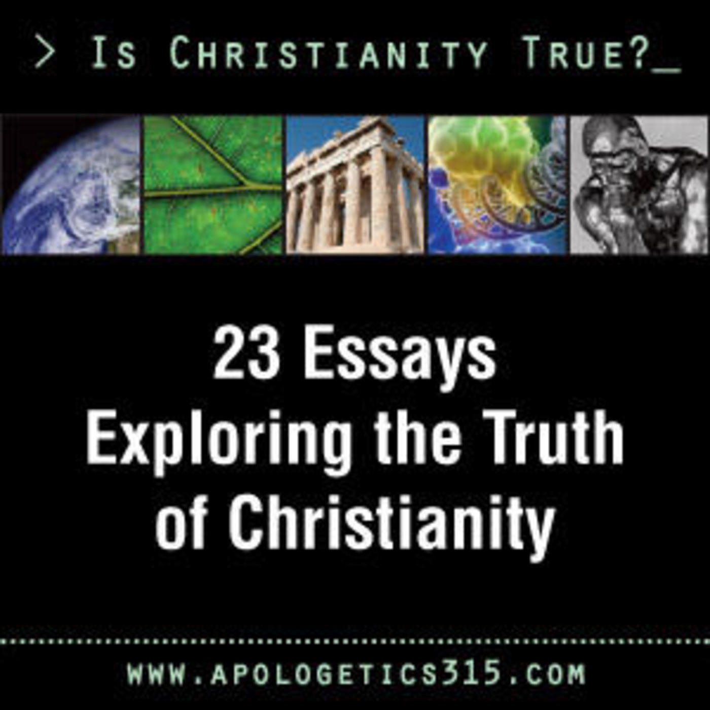 essay on christian religion Of the religion of deism compared with the christian religion by thomas paine every person, of whatever religious denomination he may be, is a deist in the first article of his creed.