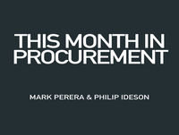 February 2017: Supply Risk, Procurement Press & More... w/ Mark Perera and Philip Ideson
