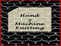Hand y Machine Knitting - Episode 30