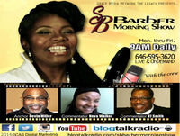 'PUT IT ON THE TABLE' Transit Cuts -Mel Reeves, Co-host VJ Smith, Apostle Barber