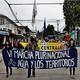 Sonidos de la sexta marcha plurinacional en panguipulli
