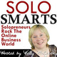 Solo Smarts #41: Michele Scism Is Willing To Do What It Takes