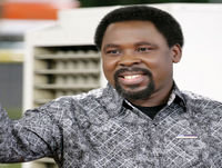 TB Joshua At The Altar- 1 January 2017