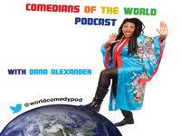 Comedians of the World Podcast- Bronston Jones, Danny Lobell, Genevieve Joy and Zoltan Kaszaz
