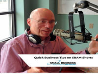 Artificial intelligence: friend or foe of small business? Today on the SBAM Shorts audio report.