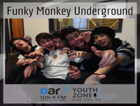 Funky Monkey Underground on Youth Zone - 27-06-2017