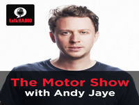 Podcast: The Motor Show with Andy Jaye - Saturday, April 22