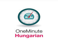 Lesson 8 - One Minute Hungarian