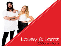 MACKAY UPDATE - Lakey and Larnz with Nine News' Phil Whilmington