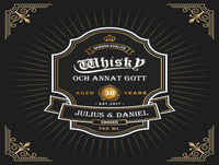 2. Whisky och annat gott – Landskamp och lite historia