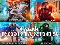 #theflash #Legendsoftomorrow #Arrow #Supergirl #Podcast Couch Commandos #69