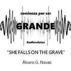 She falls on the grave - Álvaro G. Navas