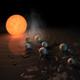 La Brújula de la Ciencia s06e29: TRAPPIST-1, una estrella con un sistema solar en miniatura