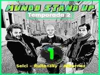 Temporada 2 - Programa 1 - Guillermo Selci - Brian Rullansky - Impro Albornoz