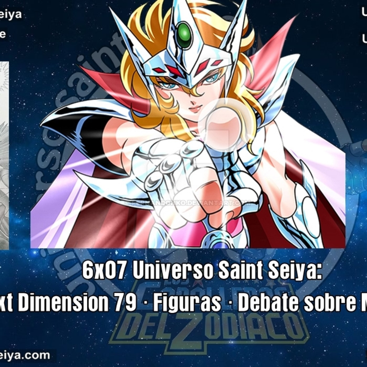 6x07 Universo Saint Seiya: Noticias · Next Dimension 79